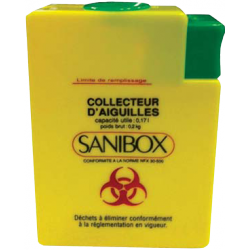 Nadelsammler – Sanibox 250 ml