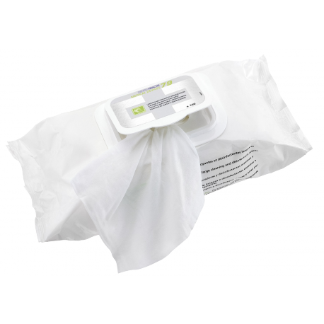 Wipes for surface disinfection