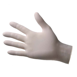 Latex, non-powdered, non-sterile gloves