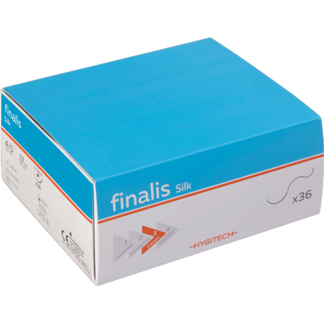 FINALIS Sterile Silk Sutures (x36)