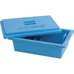 Decontamination tray for instruments