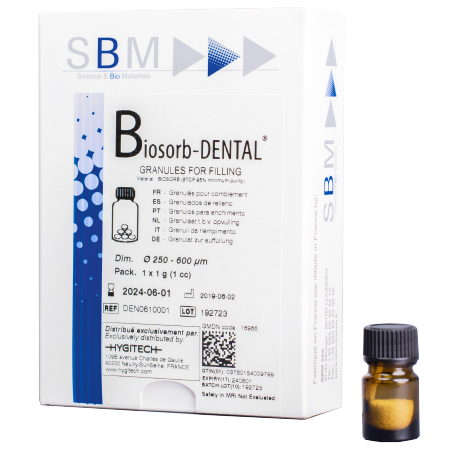 Biosorb-Dental : substitut osseux synthétique