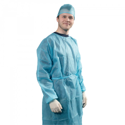 Non sterile single use isolation gown